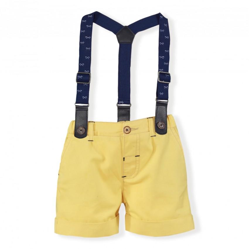 8685b0db3 Conjunto camisa y pantalón corto bebé 1112 MIRANDA