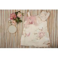 vestido niña YOEDU 0547 familia DE ALBA