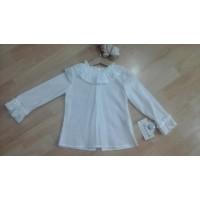blusa infantil plumeti blanca MIRANDA 261