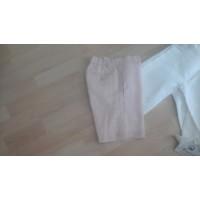 Pantalon corto lino rosa PILAR BATANERO