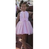 Vestido rosa falda de tul. NEKENIA. 1821845