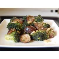 Receta de brócoli con shiitake