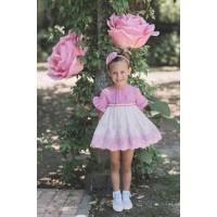 Vestido niña fucsia DOLCE PETIT. 2226