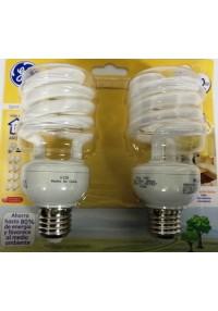 65066 CFL ESPIR 26W T3 X2 LUZ CALIDA c/u