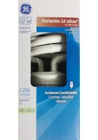 36492 Lámpara Fluorescente Compacta Spiral 32 T3 c/u