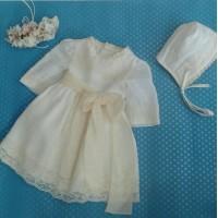 Vestido  lino con capota 23194 LILUS