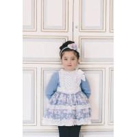 DOLCE PETIT vestido niña 2255V invierno 2017