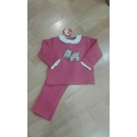 Chándal  rosa fresa KIZ perrito CHC20