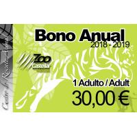 Bono Anual Individual 1 adulto.