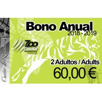 Bono Anual Duo 2 Adultos