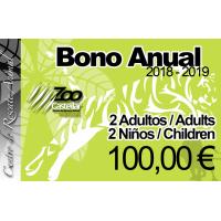 Bono Anual Familiar Plus 2 adultos - 2 niños