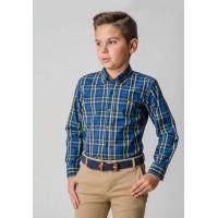 camisa SPAGNOLO  cuello botón popelin